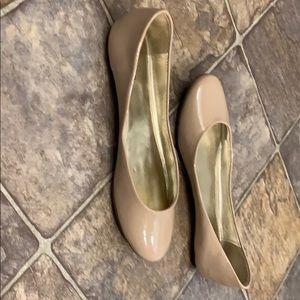 Xhilaration Shoes - Xhilaration patent nude flats -  never worn